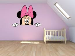 personalisnie disney minnie mouse wall