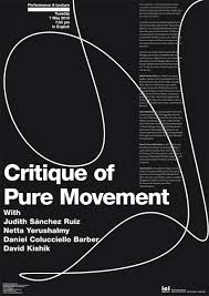 critique of pure movement ici berlin poster critique of pure movement indd
