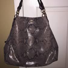 COACH Madison Phoebe Large Shoulder Bag