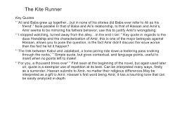 The Kite Runner Chapter     SlideShare