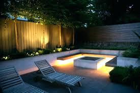 outdoor lighting ideas for backyard. Modern Backyard Landscaping Ideas Led Strip Lighting For Outdoor