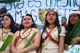 Image result for Waorani woman Ecuador