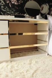 Preciously Me blog : DIY - Ikea Hack, Customize and Glamorize a Malm dresser  with