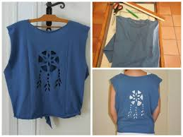 Dream Catcher Shirt Diy ✂ Teeshirt Attraperêves à faire soimême Dreamcatcher cutout 11