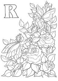 roses coloring pages 137 best flower fairies to color images on