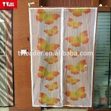 diy magnetic door screen mosquito preventing hands free magnetic door curtain