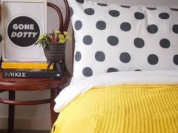 Polka Dot Pillowcases Delectable Polka Dots Pillow Case In 'Charcoal' 32