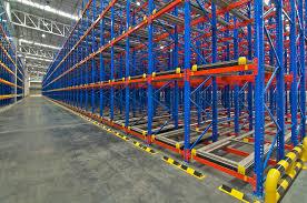 steel warehouse shelving