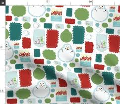 Fabric By The Yard Holiday Gift Tags Small