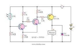 light sensitive switch with ldr