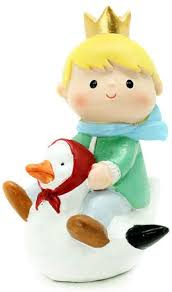 GRRqueen Ornaments Cartoon Little Prince Birthday Baking Micro ...