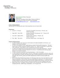 Resume For Sales Associate Retail