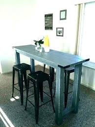 tall dining tables small spaces counter height kitchen sets table high
