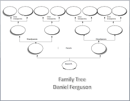 Family Tree Templates Microsoft Make A Family Tree K 5 Computer Lab Technology Lessons