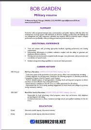 Military Resumes Examples Beauteous Military Resume Examples 48 Resume 48