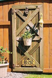Old Door Decorating 17 Best Images About Fence Decorating On Pinterest Decorated