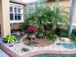 rock beds landscaping. Fine Rock Tropical Landscape Rock Garden Plants And Flowers Throughout Beds Landscaping