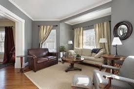 grey wall living room decor