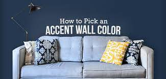 how to pick an accent wall color