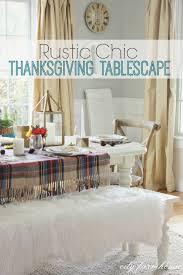 Thanksgiving Tablescape Hop - City Farmhouse