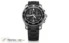 victorinox swiss army maverick gs 241431 men s stainless steel victorinox swiss army maverick gs chronograph quartz men s watch stainless steel black dial 241431