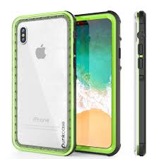 Green Light On Iphone Screen Iphone Xs Case Punkcase Crystal Series Protective Ip68