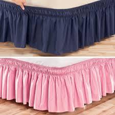 Wrap Around Bed Skirts Round Designs