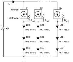 led light circuit using nsi45090jdt4g 3 Prong Led Flasher Schematic nsi45090jdt4g led flasher schematic circuit Plug in LED Flasher Kit