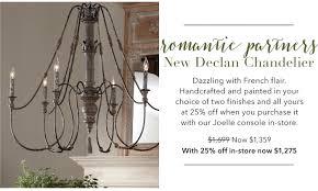 new declan chandelier