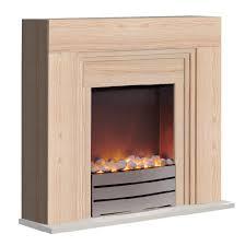 warmlite york beech electric fireplace suite thumbnail