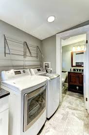 wall mounted cabinets for laundry room best drying racks ideas on hanging inside throughout clothes rack