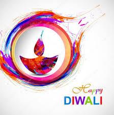 Diwali Diya Designs Photos Happy Diwali Diya Card Artistic Grunge Colorful Creative