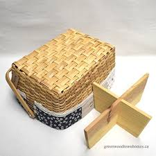 d dolity 4 cell detachable wooden rectangle wall mounted rattan wicker basket woven container for home