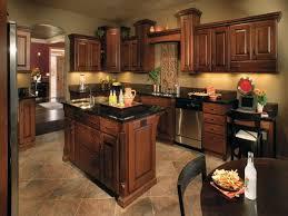 kitchen designs dark cabinets. Beautiful Designs Kitchen Walls Paint Invigorate Cherry Cabinets With Gray Wall And Quartz  Countertops Ideas Regard To 4  In Designs Dark K