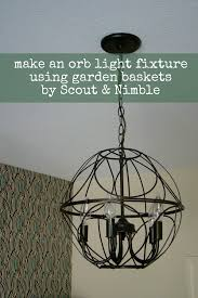 orb light fixture. DIY Orb Light Fixture U
