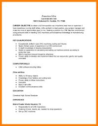 Machinist Resume Template Medical Examples Principal Samples Blank
