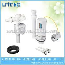 parts of the toilet tank. toilet tank fitting spare parts side fill valve and flush of the