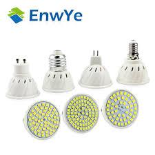 110 Volt Light Bar Enwye E27 E14 Mr16 Gu5 3 Gu10 Lampada Led Ampoule 110 V 220