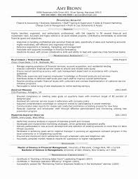 Accounts And Finance Resume Format Unique 53 Lovely Resume Format