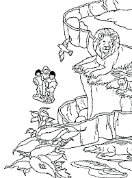 zoo coloring pages to print animals activity symmetry kids