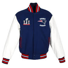 new england patriots jh design navy white super bowl li champions embroidered wool leather