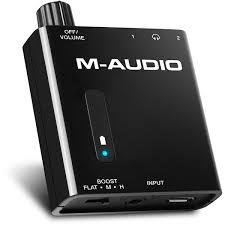 <b>Усилитель</b> для наушников <b>M</b>-<b>Audio Bass Traveler</b>