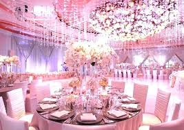 small table centerpieces round table decoration ideas pink wedding party decorations with large round tables and