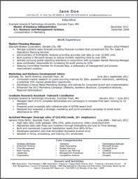 Entry Level Accounting Resume Samples Cooperative Concept Sample