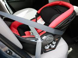 peg perego car seat installation with
