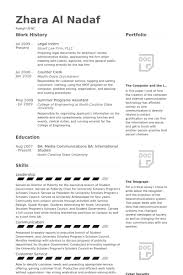 Internship Resume Unique Legal Intern Resume Samples VisualCV Resume Samples Database