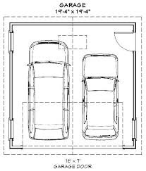 2 car garage size square feet how big is a one car garage square feet 3