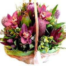 standard flower size australian native flower basket botanique florist gold coast delivery