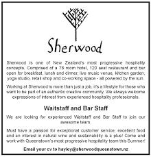 Bar Staff Job Description Housekeeper Room Attendant Jobfix