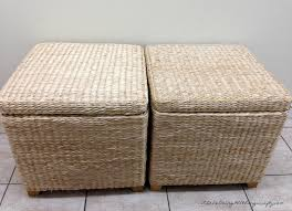storage box bench seats recovered diy tutorial